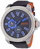 BOSS Orange Herren-Armbanduhr XL New York Multieye Analog Quarz Textil 1513013