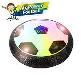 Playworld Air Power Fußball Fussball Hover Ball Leistungsstarke LED-Licht und Schaum Stoßstangen für Indoor Outdoor-Spiele, Spielzeug für Kinder Jungen und Mädchen Geschenke