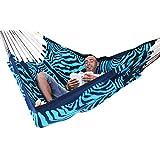 arambol hammocks flying carpet original zebra print blue dark blue amazon in  arambol hammocks   camping furniture   camping  u0026 hiking      rh   amazon in