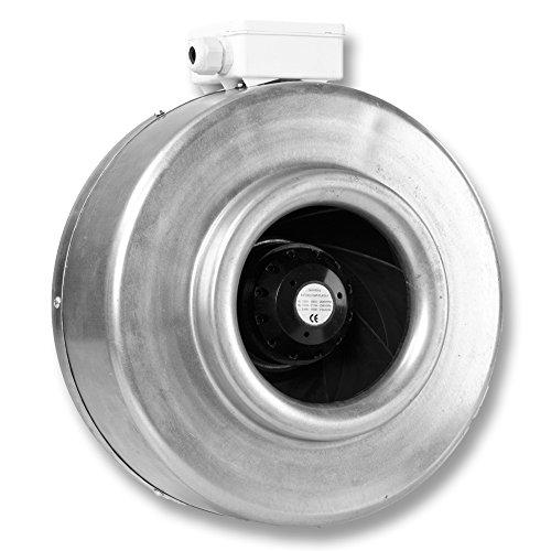 HIT100 von Hydor Zentrifugalventilator Durchmesser 100 mm - 61 W - 2153/h - Code CTR00000-3 Geschwindigkeitsstufen