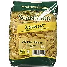 Sgambaro Khorasan Kamut Mezze Penne Rigate, No. 95 - 500 gr - [confezione da 8]