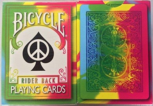 Magic Tie Dye (Rare Bicycle Tie Dye Deck Playing Cards Tye Die Magic by Bicycle)