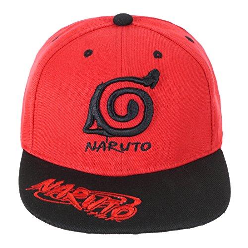 KeySmart Naruto Basecap mit Konohagakure Symbol (Akatsuki Pein Kostüm)