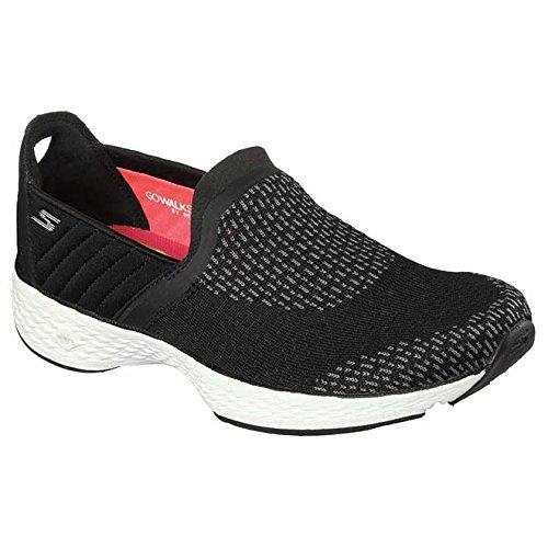 Skechers Go Walk Sport Supreme Womens Scarpe - AW17 Black/White
