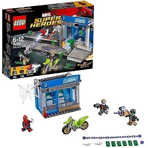 LEGO - 76082 - Marvel Super Heroes - Jeu de Construction - Le braquage de banque