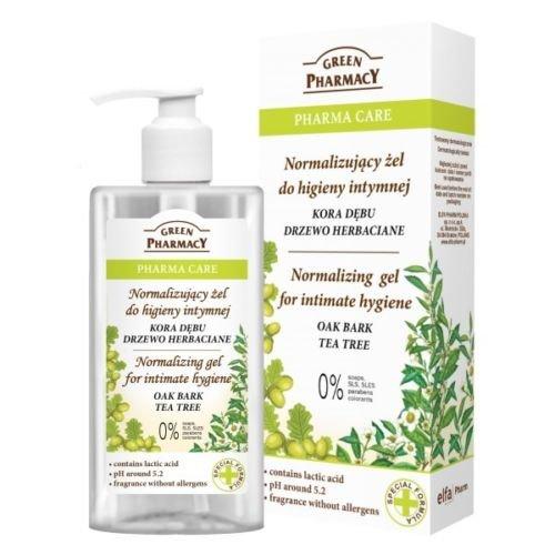 Gel Higiene Intima a base de Corteza de Roble Arbol del Té y Acido Láctico 300 ml