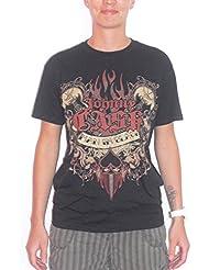 JOHNNY cASH-mAN iN t-shirt noir