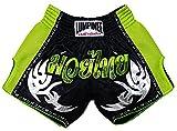 Lumpinee Short rétro pour boxe thaï kick-boxing XL Green Viper