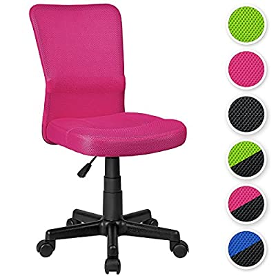 TecTake Office computer chair - different colours - (Pink | no. 401792) produced by TecTake - quick delivery from UK.
