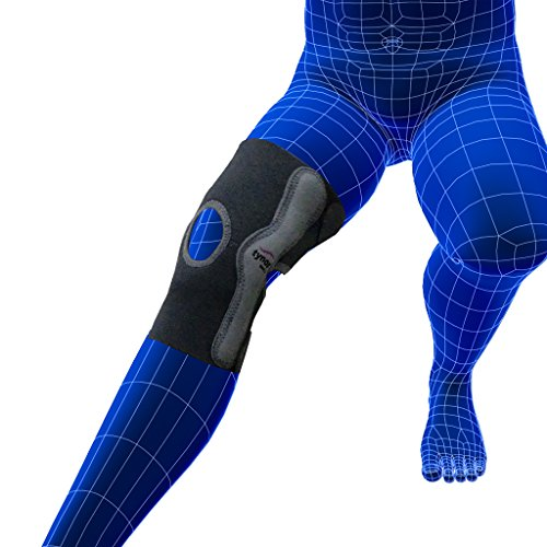 Tynor Elastic Knee Support with Customized Compression - Small