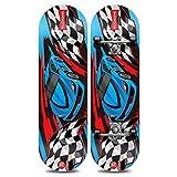 RENYAYA Kids Skateboard, Das Maple Skateboarding für die Perfektion Ihrer Fähigkeiten und Walzen-Lernen, Übungen und Land Tricks jederzeit,Racing