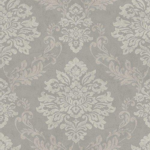 arthouse-palazzo-damask-pattern-textured-vinyl-glitter-motif-wallpaper-pebble-290402arthouse