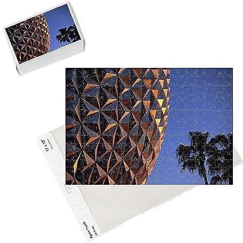 Photo Jigsaw Puzzle of Spaceship Earth, Epcot, Disney, Orlando, Florida,