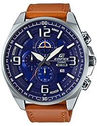 EFR-555L-2AVUEF - Reloj Casio Edifice con correa de piel marron y WR100M