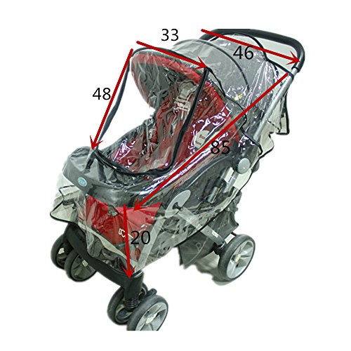 High quality and heavy duty pvc material. This cover is for outdoor use only.Please be sure to check photo if near enough match for your pushchair.  sc 1 st  Baby Stroller Info & Baby Stroller Rain Cover u2013 Baby Stroller Info