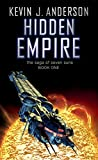 Front cover for the book Hidden Empire by Kevin J. Anderson