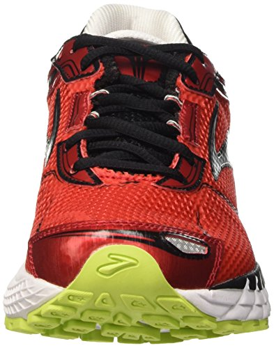 Brooks Aduro 3 M, Scarpe da Corsa Uomo Multicolore (High Risk Red/Black/Nightlife)