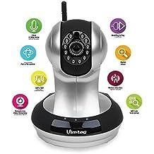 - Nuevo de P2P Plus (Tecnología Cloud) Vivienda, cámara de seguridad, Ip Cámara web,, vimtag fujikam 361HD con IP/Red, W de LAN y vídeo Control, Plug/Play,/inclina con de dos vía Audio y IR Visión Nocturna