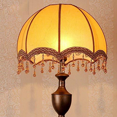 WI Home Stehleuchte, bodenstehende Lesung, kreative amerikanische Landhausstil-Stehlampe Nachttischlampe dekorative chinesische Klassische Schlafzimmer Augenschutz vertikale Tischlampe