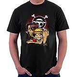 Pirate King Monkey D Luffy One Piece Men's T-Shirt