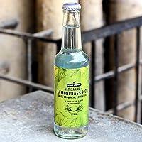 Urban Platter Artisanal Lemongrass Soda, 275ml [Pack of 6, All Natural, Made from Real Lemongrass]