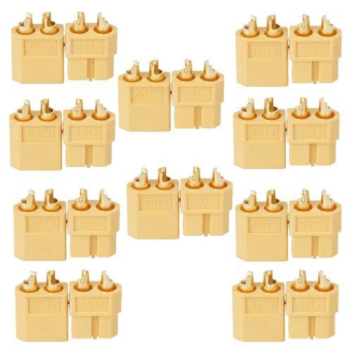 10 Paire Fiche XT60 XT-60 Mâle Femelle Connecteur Prise Pour RC Lipo Batterie