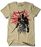 Camisetas La Colmena 1069-Witcher Sumie v2 (Dr.Monekers)