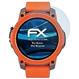 atFoliX Schutzfolie kompatibel mit Nixon The Mission Folie, ultraklare FX Bildschirmschutzfolie (3X)