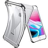 Joyguard Coque iPhone 6s, Coque iPhone 6 Premium TPU Souple Silicone Plating Coquille [Cadeau Ecran en Verre Protecteur] [Crystal Clear] Housse Bumper pour iPhone 6s/6-4.7pouces - Argenté