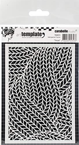 Carabelle Studio Art Template Schablone, Trikot zum gestalten von Gemusterten Hintergründen und Erstellen von Kunstwerken und Bastelprojekten -