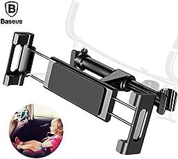 Baseus Backseat Car Holder For iPhone 7 8 X Adjustable Car Mount Holder For iPad Tablet Samsung S8 Back Seat Brackets Car Holder