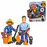 Sam & Ellie | Feuerwehrmann Sam | Spiel Figuren Set | Simba Toys