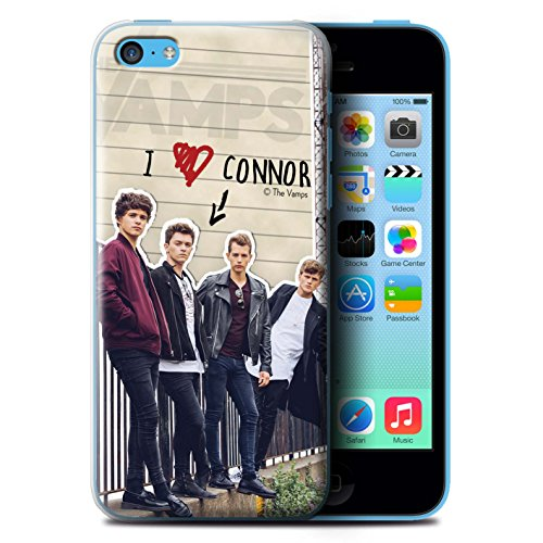 Officiel The Vamps Coque / Etui pour Apple iPhone 5C / Pack 5pcs Design / The Vamps Journal Secret Collection Connor