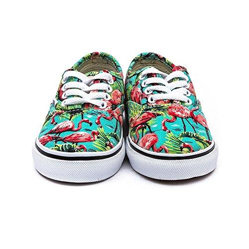 Vans AUTHENTIC Low-Top Sneaker, Unisex Bambino (flamingo)turqu