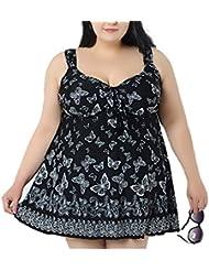 Moin - Traje de una pieza - cuello hálter - Sin mangas - para mujer