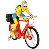 Elektrischer Fahrradfahrer Kinderspielzeug mit Musik und Licht