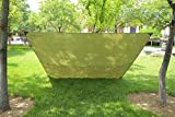 3m x 3m - wasserdicht , leicht, kompakt und stark grün Hammock Plane für Camping -