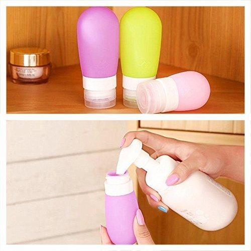Sedeter silicone gel cosmetico profumo imbottigliamento shampoo tubo contenitore da