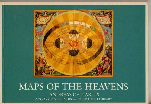 Maps of the Heavens: Andreas Cellarius: Postcard Book