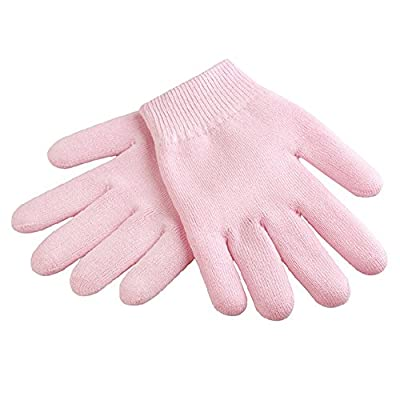 Unisex Women Men Hands Spa Moisturizing Whitening Treatment Skincare Hands Care Gel Plant Essential Oils Gloves Pink