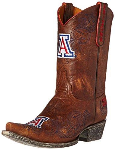 NCAA Arizona Wildcats 25,4cm Gameday Damen Stiefel, Damen, messing, 8 B (M) US