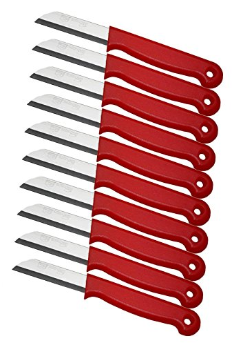 Schwertkrone 10er Messer Set Gemüsemesser Küchenmesser Schälmesser aus Bandstahl - Germany...