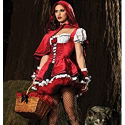 2017 new Little Red Riding Hood role-playing witch dress cosplay maid outfit Christmas
