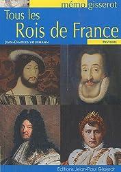 Tous les rois de France - mémo