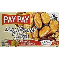 Pay - Pay Mejillones De Las Rías Gallegas Picantes En Escabeche - 115 g