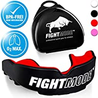 weletix Protector bucal Profesional Caja + máx. O2 + BPA Libre Zahnschutz - Seguro de Parada en el Kampfsport š Boxen, MMA, Krav Maga (Hot Red)