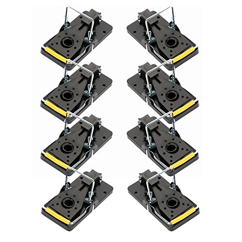 8pcs mousetraps for eliminating mice, storage or work without suffering - Captures and kills rodents instantly with no trace or odor - Super easy to set up - Ecological and reusable