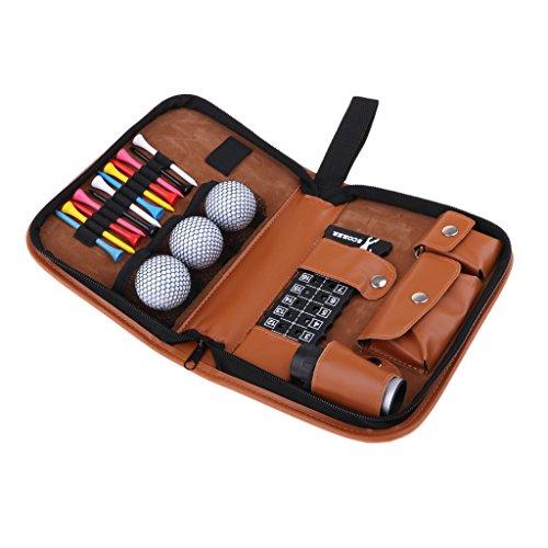 Gazechimp Débutant Golfeur Kit 3x Balle De Golf + 12x Golf...
