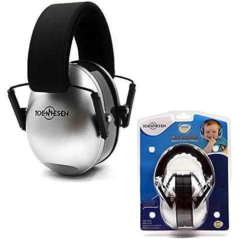 Protectores / Audición del sonido de los niños orejeras - Defensores de la venda del oído ajustables para niños,
