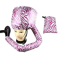 HAIR-BEAUTY Gorro Tipo Casco para secar el Pelo con elástico para conectar al secador,A,2Ps